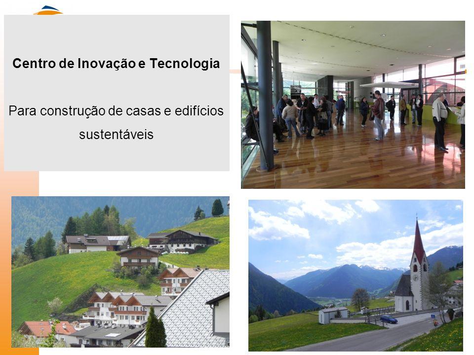 Centro de Inovação e Tecnologia Para construção de casas e edifícios sustentáveis