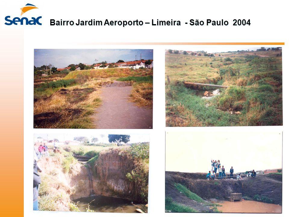 Bairro Jardim Aeroporto – Limeira - São Paulo 2004