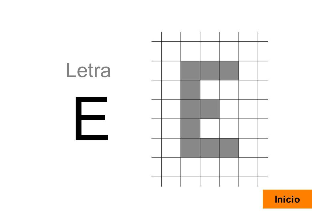 14 Letra E Início