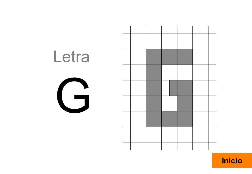 16 Letra G Início