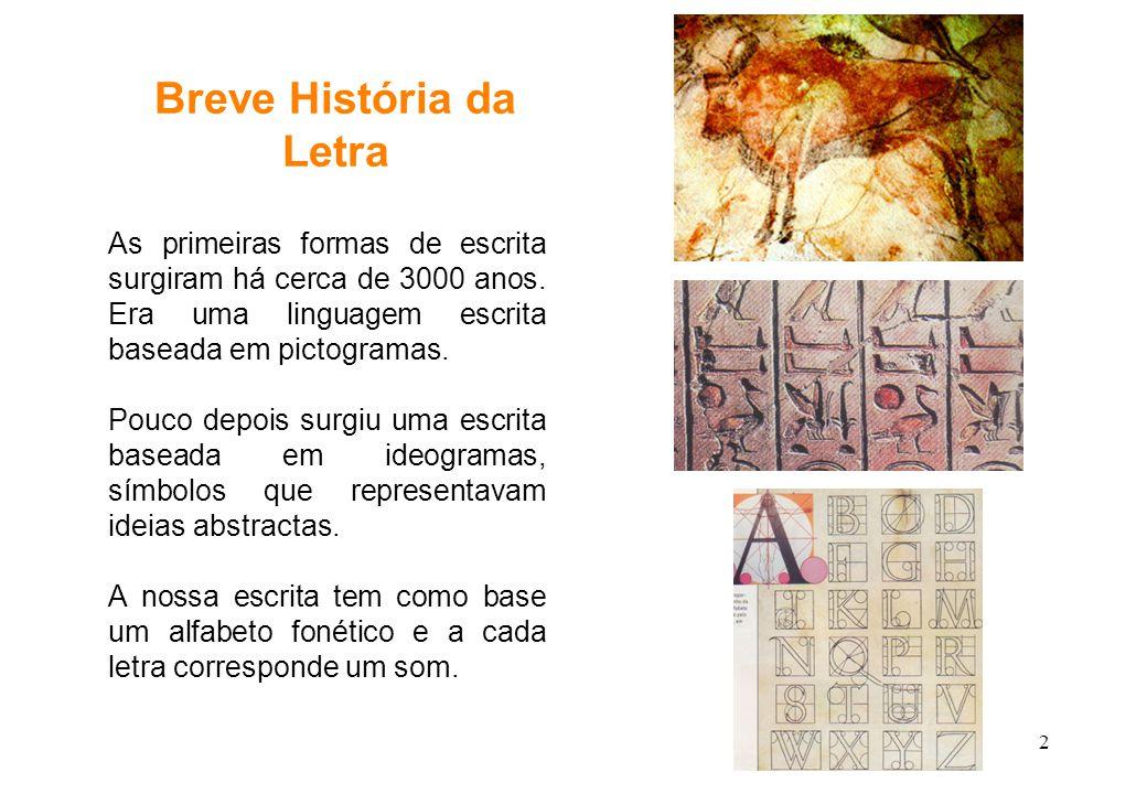 33 Letra X Início
