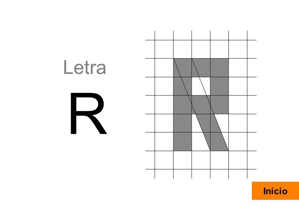 27 Letra R Início