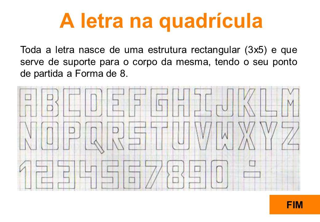 8 Rectângulo 3x5 para a Estrutura da Forma da Letra Início