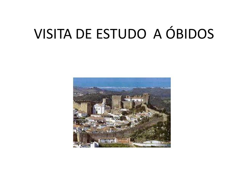 VISITA DE ESTUDO A ÓBIDOS
