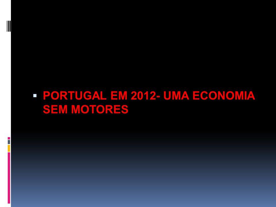  PORTUGAL EM 2012- UMA ECONOMIA SEM MOTORES