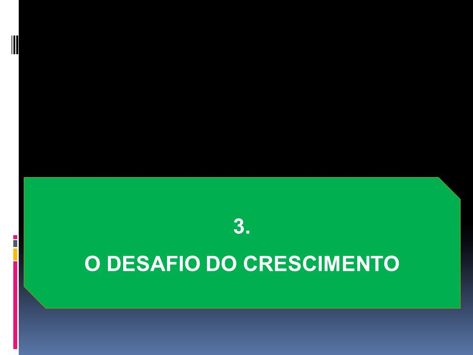 3. O DESAFIO DO CRESCIMENTO