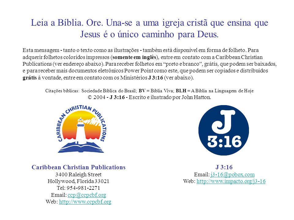 Leia a Bíblia.Ore. Una-se a uma igreja cristã que ensina que Jesus é o único caminho para Deus.