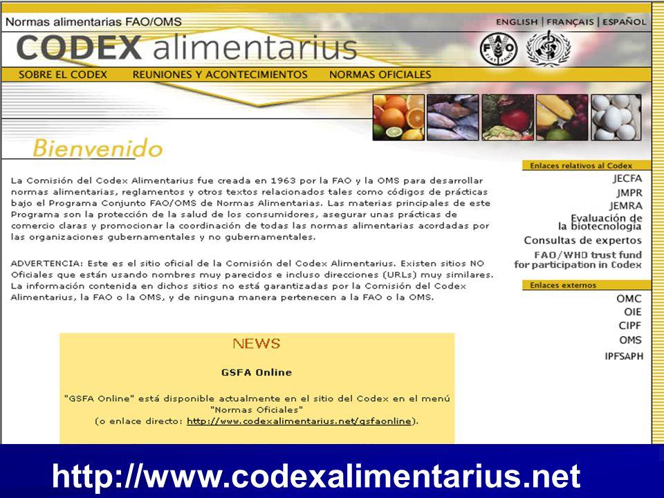 http://www.codexalimentarius.net