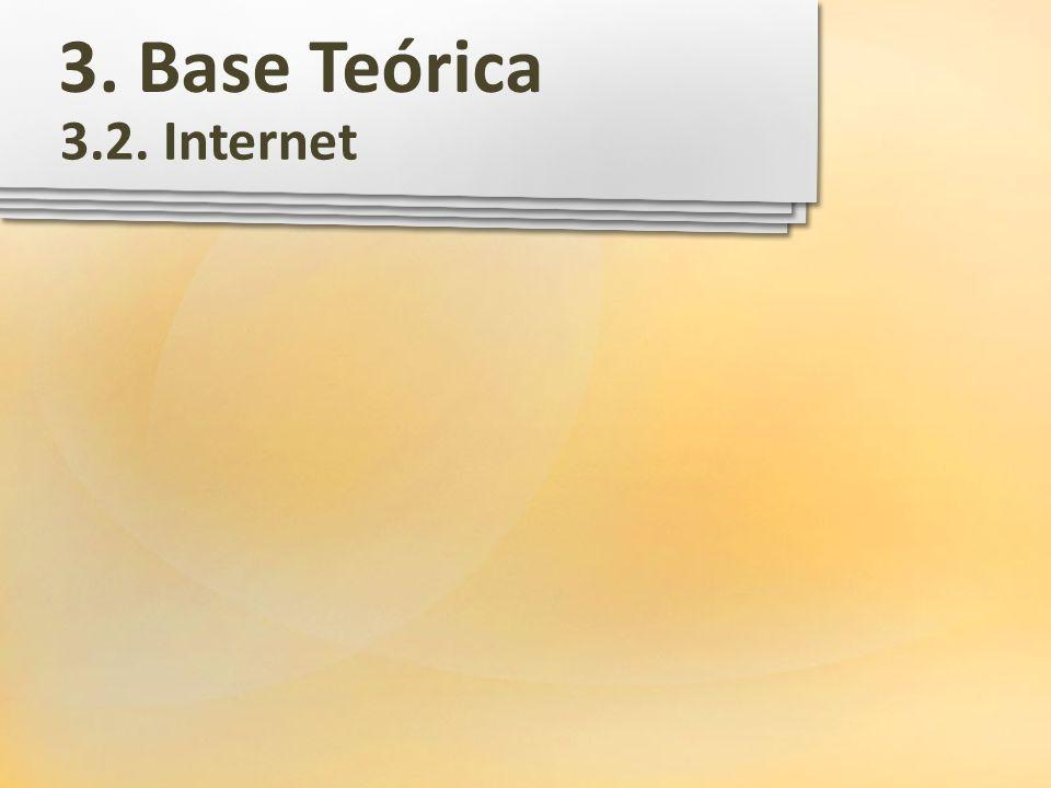 3. Base Teórica 3.2. Internet