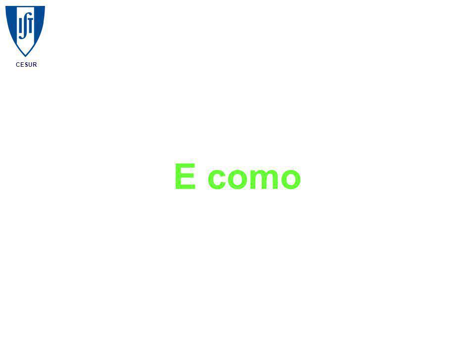 CESUR E como