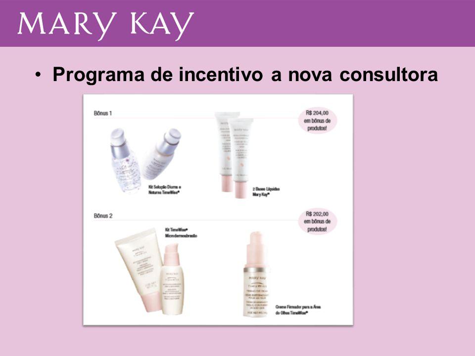 •Programa de incentivo a nova consultora
