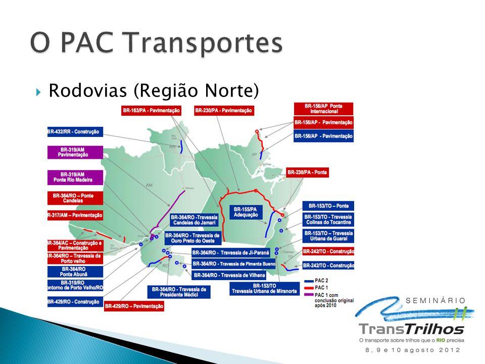  Rodovias (Região Norte)
