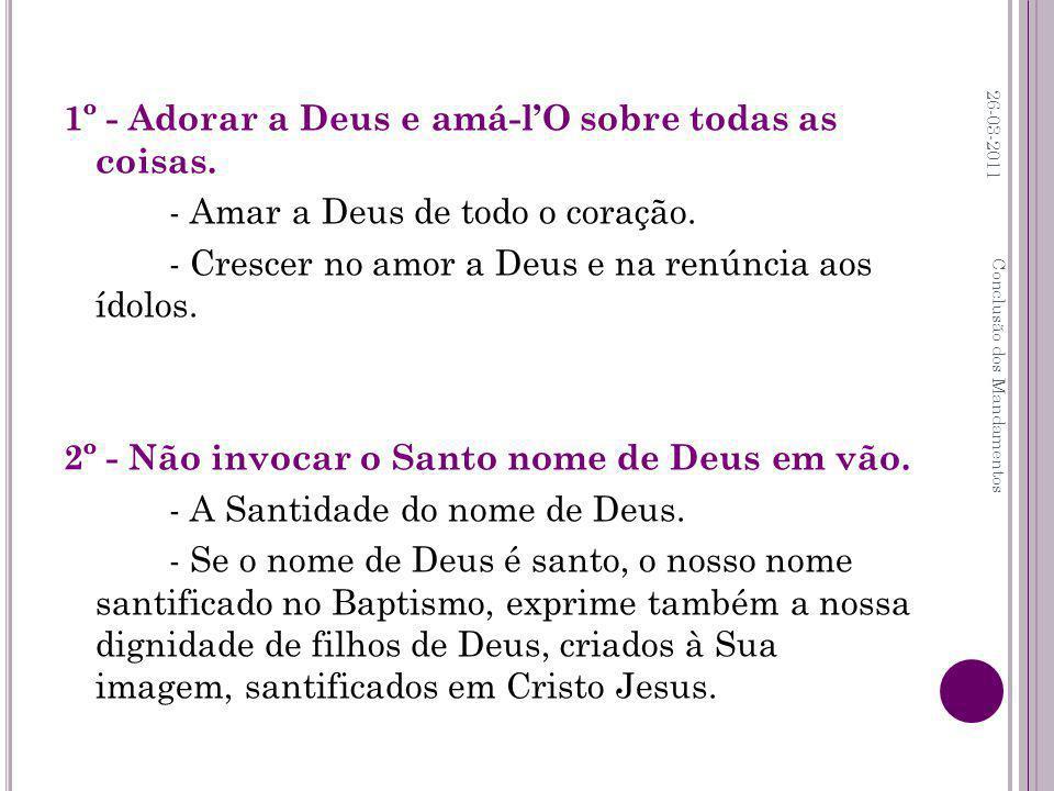 3º - Santificar o domingo e festas de guarda.- Domingo, o dia do Senhor Ressuscitado.