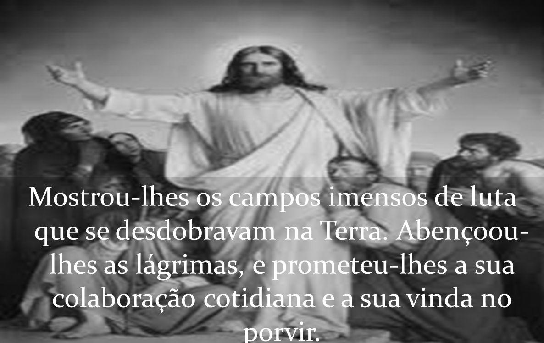 Foi assim que Jesus recebeu, à luz do seu reino de amor e de justiça, aquela turba de seres sofredores e infelizes.