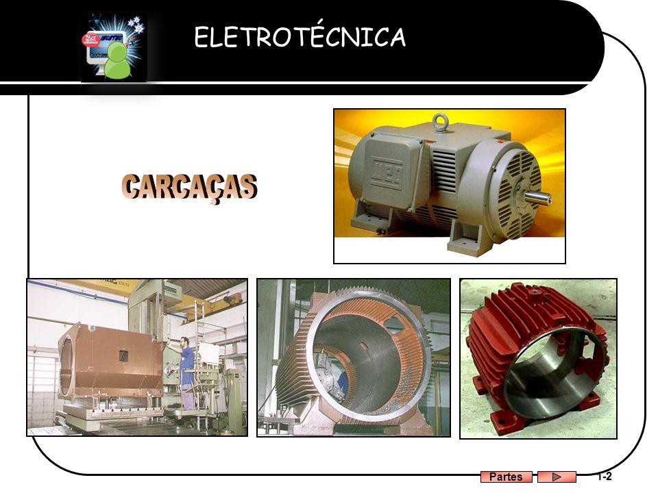 ELETROTÉCNICA Professor Etevaldo Costa 1-2 Partes