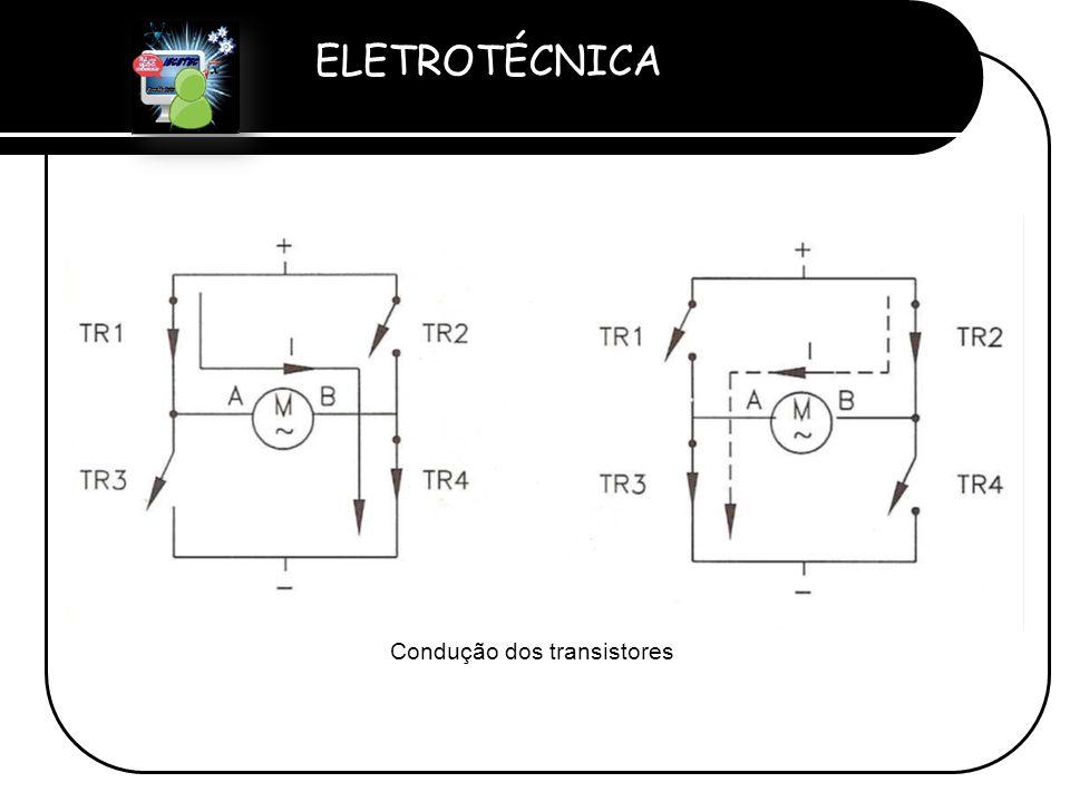 ELETROTÉCNICA Professor Etevaldo Costa Condução dos transistores