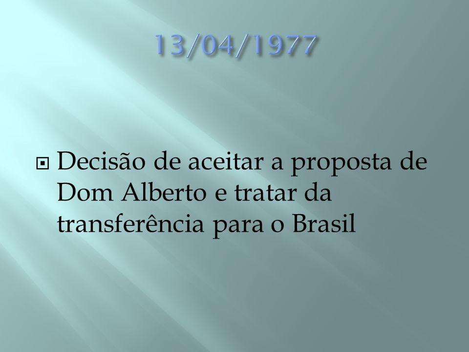  Correspondência entre o Carmelo de Fortaleza (Madre Maria da Paz, irmã de D.