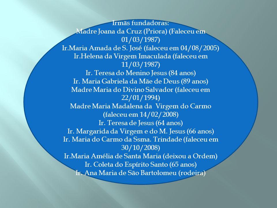  Por ocasião da 1ª visita do Santo Padre João Paulo II ao Brasil, foi benta a 1ª Pedra do Carmelo no seminário São Pio X em 8 de julho de 1980.