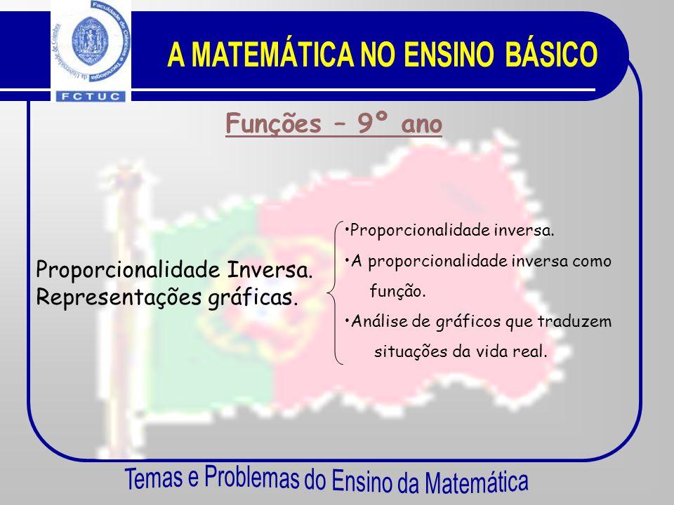 Funções – 8º ano Funções. •C•Conceito de função. •A•A proporcionalidade directa como função.