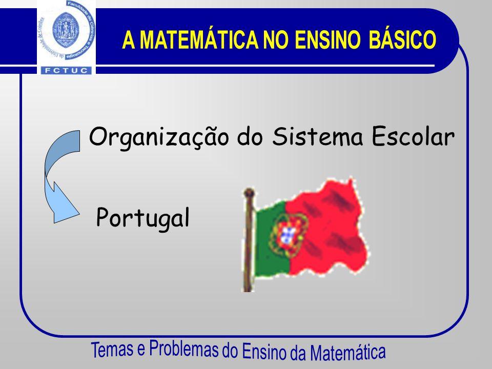Sistema Escolar em Portugal. Comparação com O insucesso na Matemática. Espanha. França.