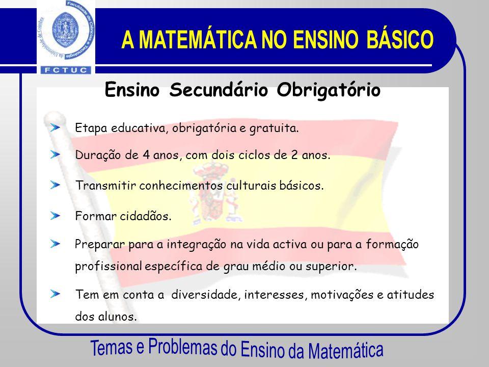 De 1970 a 2002 o Sistema Educativo Espanhol teve diversas alterações. Em 1990, com a lei L.O.G.S.E.: Ensino obrigatório até aos 16 anos. Em 2002, atra