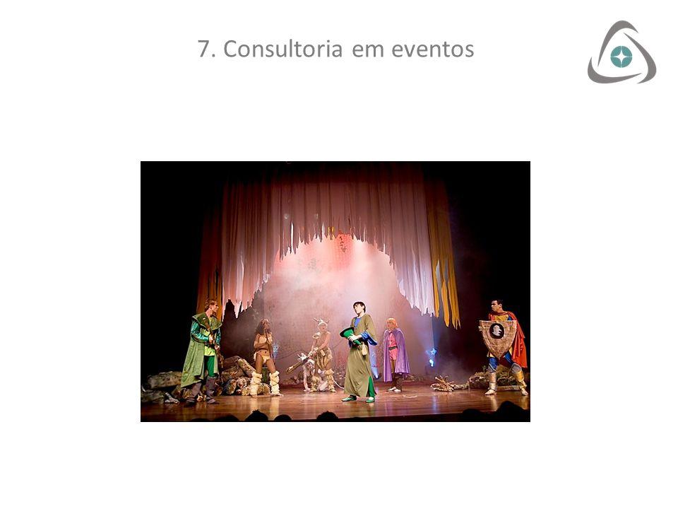 7. Consultoria em eventos