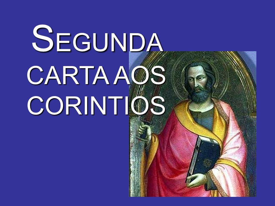 S EGUNDA CARTA AOS CORINTIOS