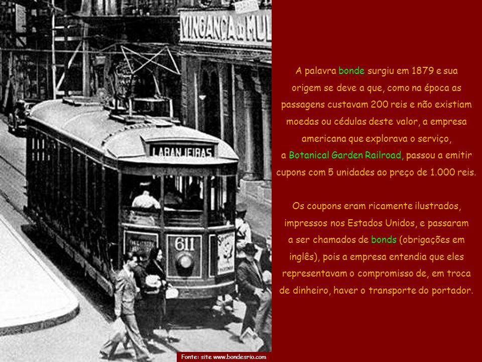Saudades dos Bondes do Rio Música: Seu Condutor By Ney Deluiz Cantam: Alvarenga & Ranchinho Ligue o Som