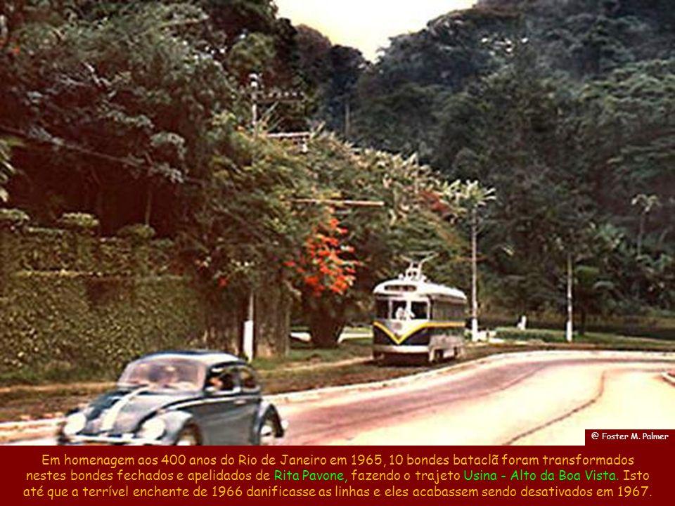 Estes bondes ambulâncias eram usados como ambulâncias e para campanhas de vacinação. Fonte: site www.bondesrio.com