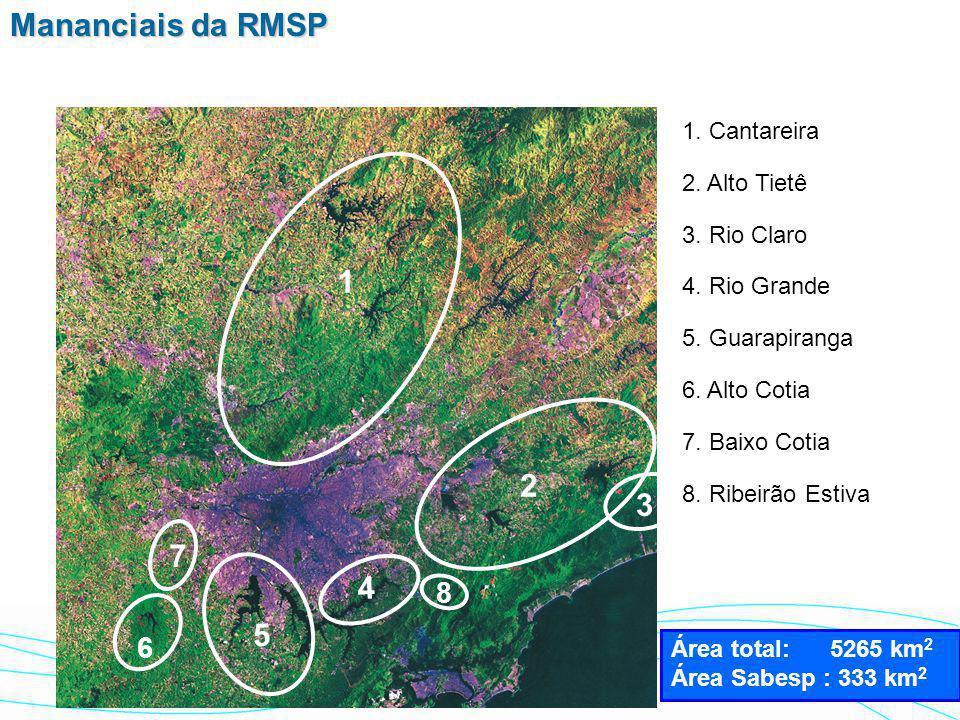 Foto satélite RMSP - 65mil metros 17,8 milhões habitantes 8.050 Km 2 8.050 Km 2 2.215 hab./Km 2 2.215 hab./Km 2 37 Municípios atendidos RMSP - Região