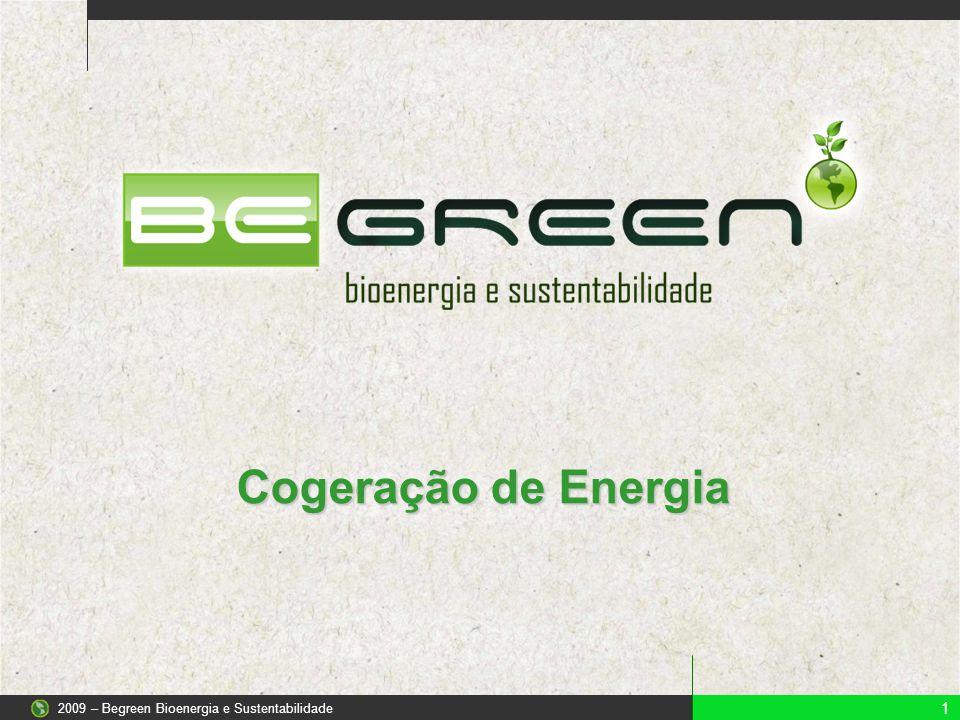 Cogeração de Energia 1 2009 – Begreen Bioenergia e Sustentabilidade