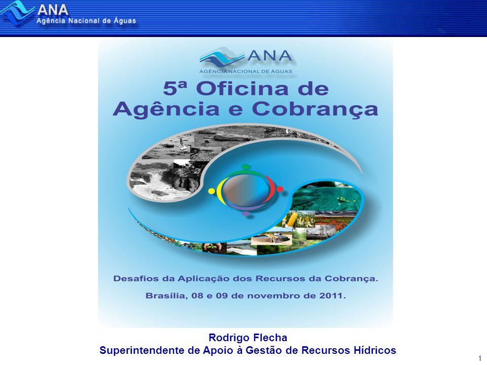 1 Rodrigo Flecha Superintendente de Apoio à Gestão de Recursos Hídricos