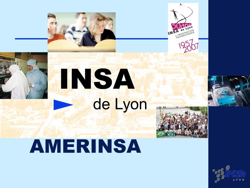 1 INSA de Lyon AMERINSA