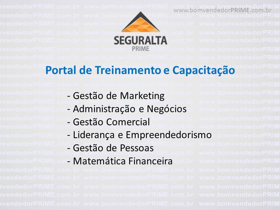 Portal de Treinamento e Capacitação - Gestão de Marketing - Administração e Negócios - Gestão Comercial - Liderança e Empreendedorismo - Gestão de Pes