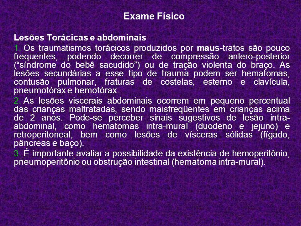 Lesões Torácicas e abdominais 1.