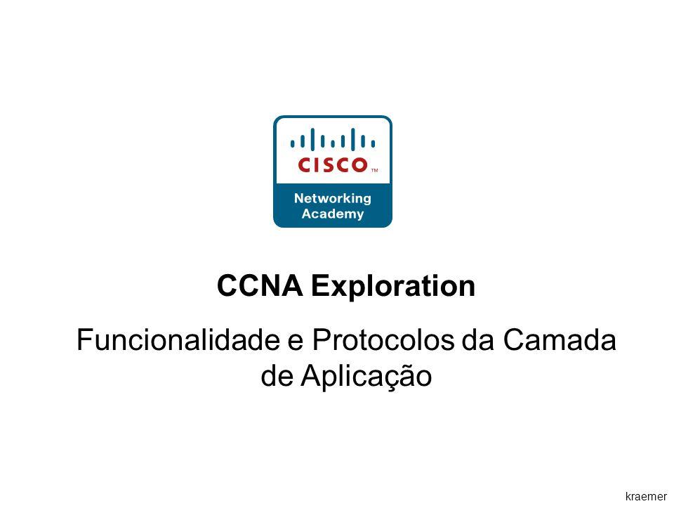 kraemer CCNA Exploration Funcionalidade e Protocolos da Camada de Aplicação