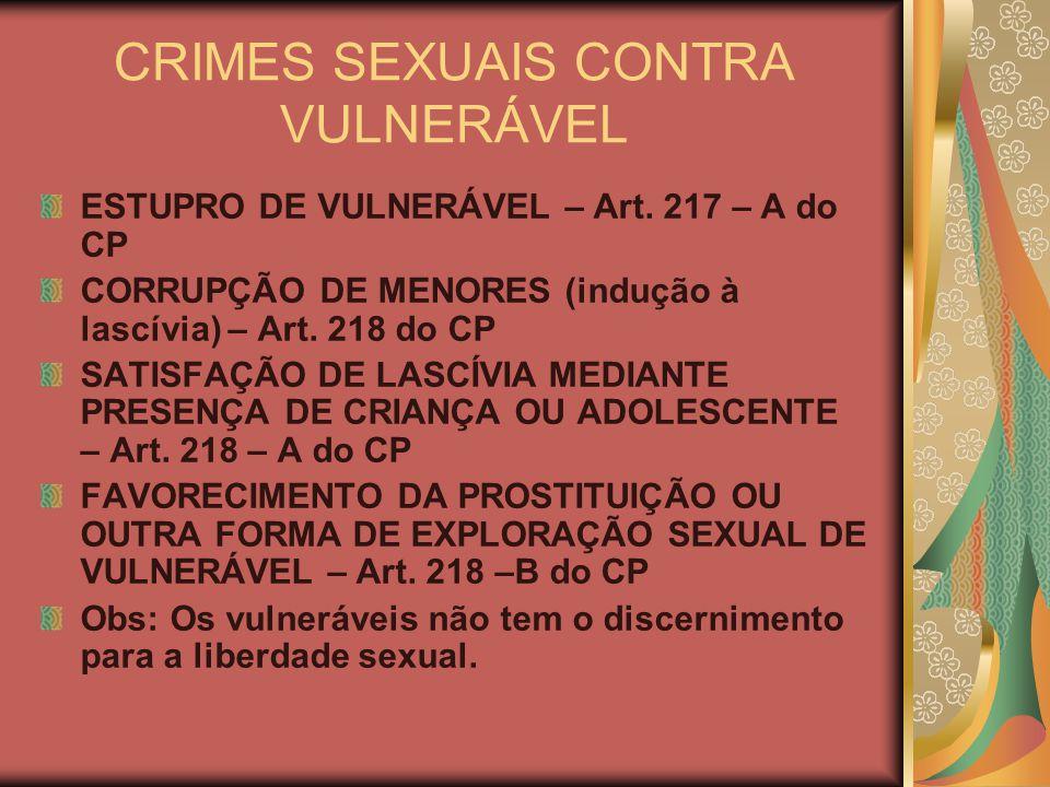 DO LENOCÍNIO E DO TRÁFICO DE PESSOA PARA EXPLORAÇÃO SEXUAL Mediação para servir a lascívia – Art.