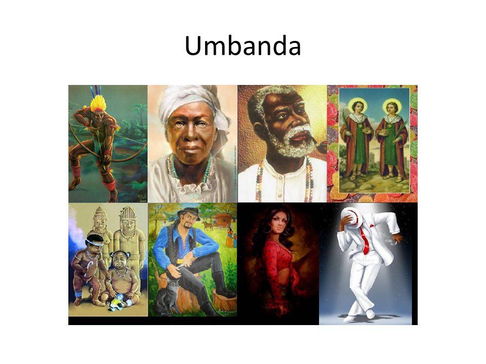 CANDOMBLÉUMBANDA DEUSES: Orixás de origem africana.