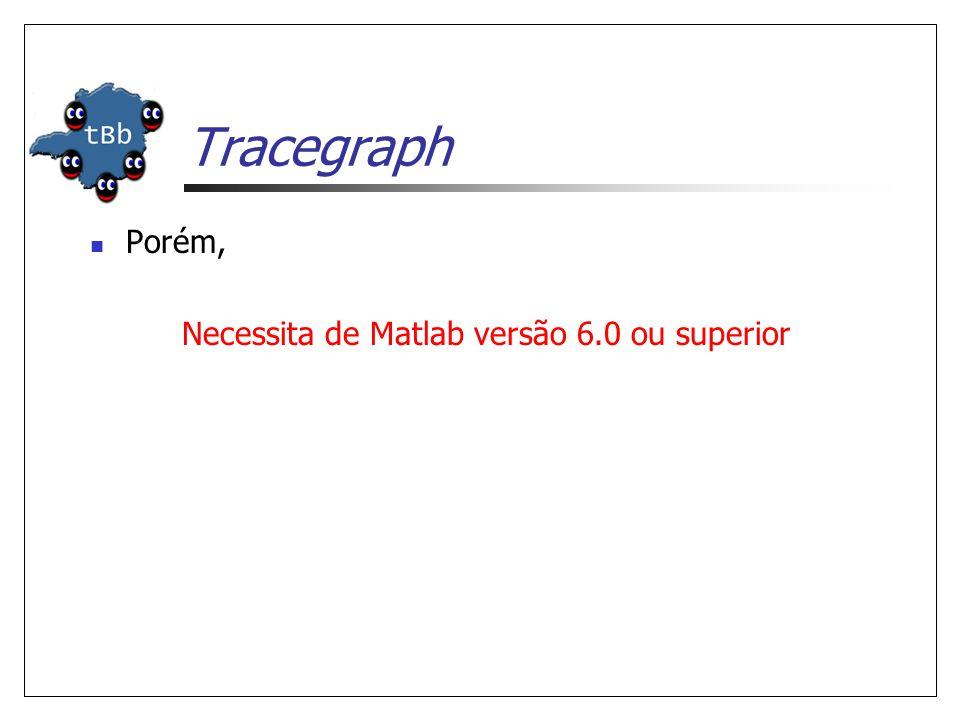  Porém, Necessita de Matlab versão 6.0 ou superior