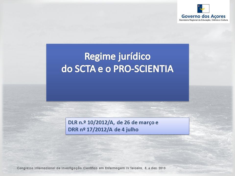 Congresso Internacional de Investigação Científica em Enfermagem IV Terceira, 5, 6 dez. 2013