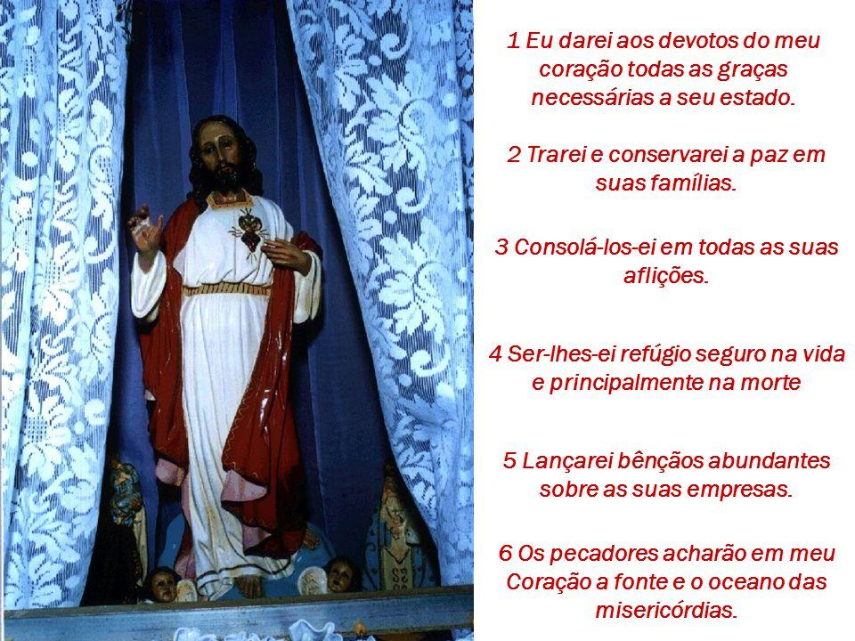 """Pregava a """"confiança"""" à Grande Promessa feita pelo Sagrado Coração de Jesus à Santa Margarida:"""