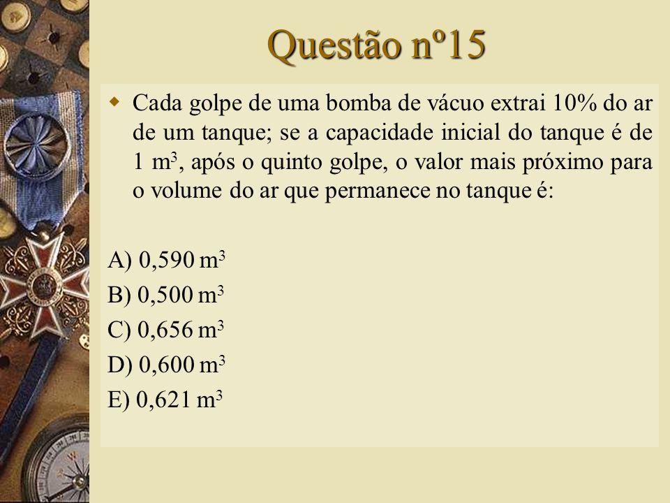 Solução nº14   Assim, a alternativa correta é D