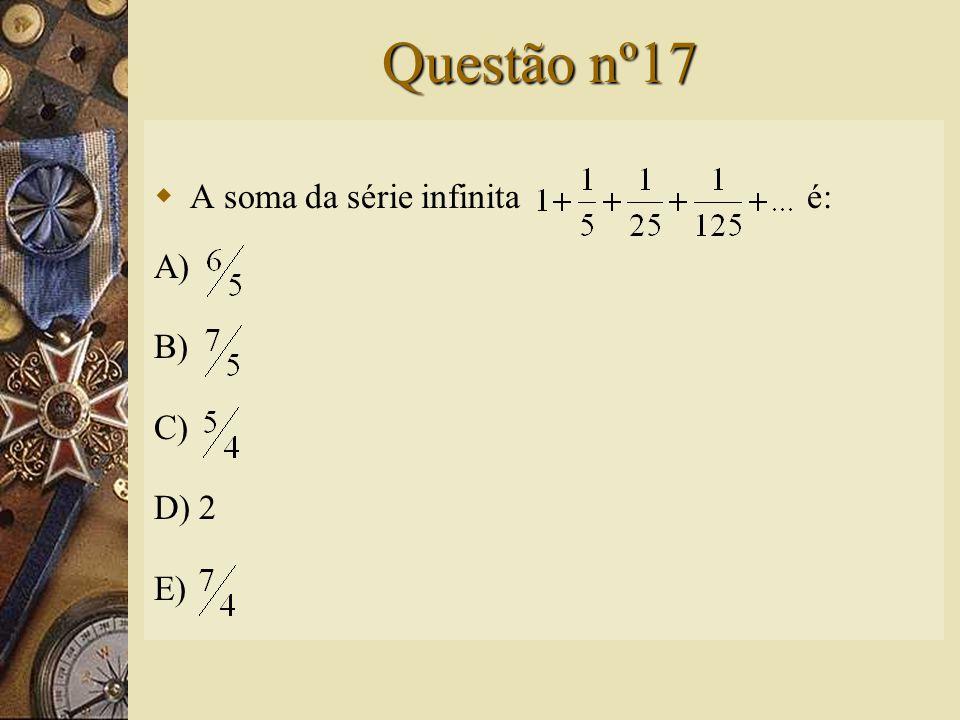 Solução nº16   Assim, a alternativa correta é A