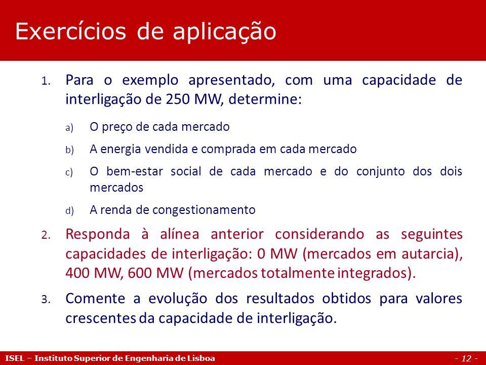 - 12 - ISEL – Instituto Superior de Engenharia de Lisboa 1.