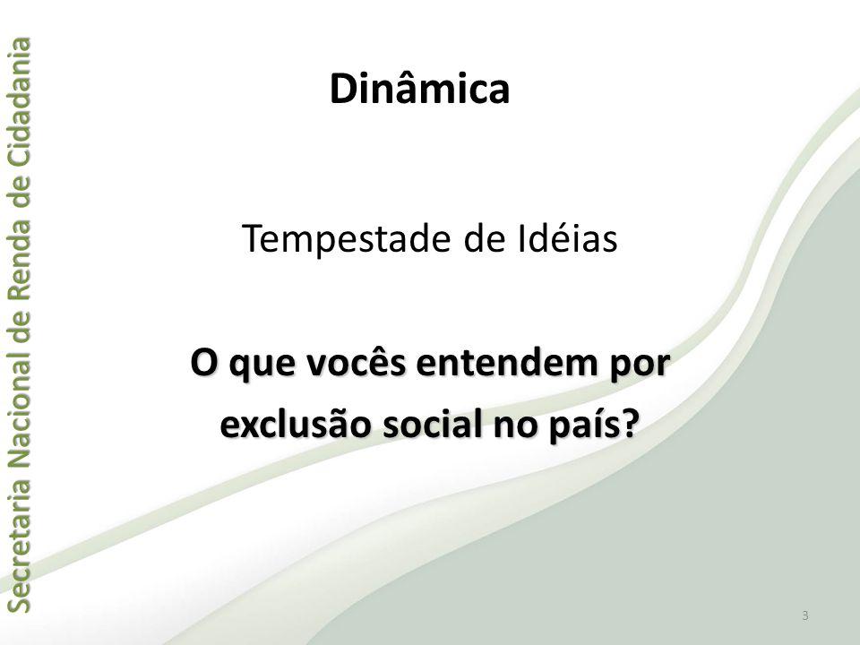 Secretaria Nacional de Renda de Cidadania Secretaria Nacional de Renda de Cidadania Endereço da Família QuestãoCorretoIncorreto 11.