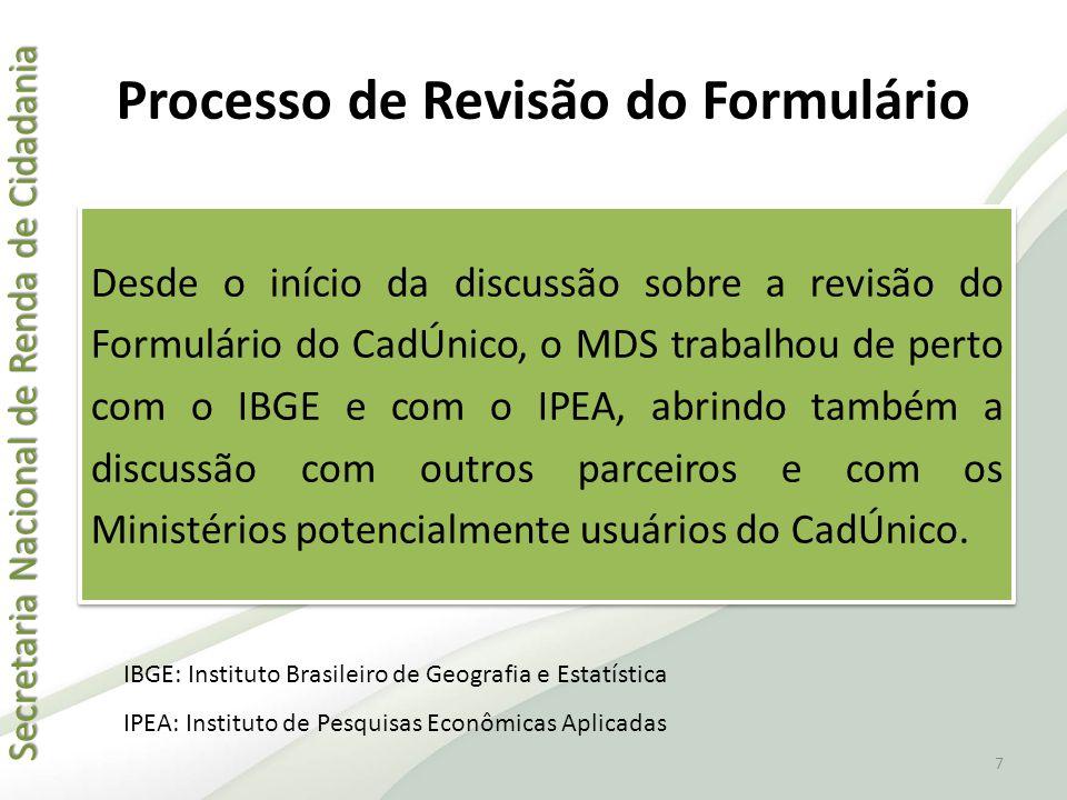 Secretaria Nacional de Renda de Cidadania Secretaria Nacional de Renda de Cidadania Formulários de Cadastramento QuestãoCorretoIncorreto 6.