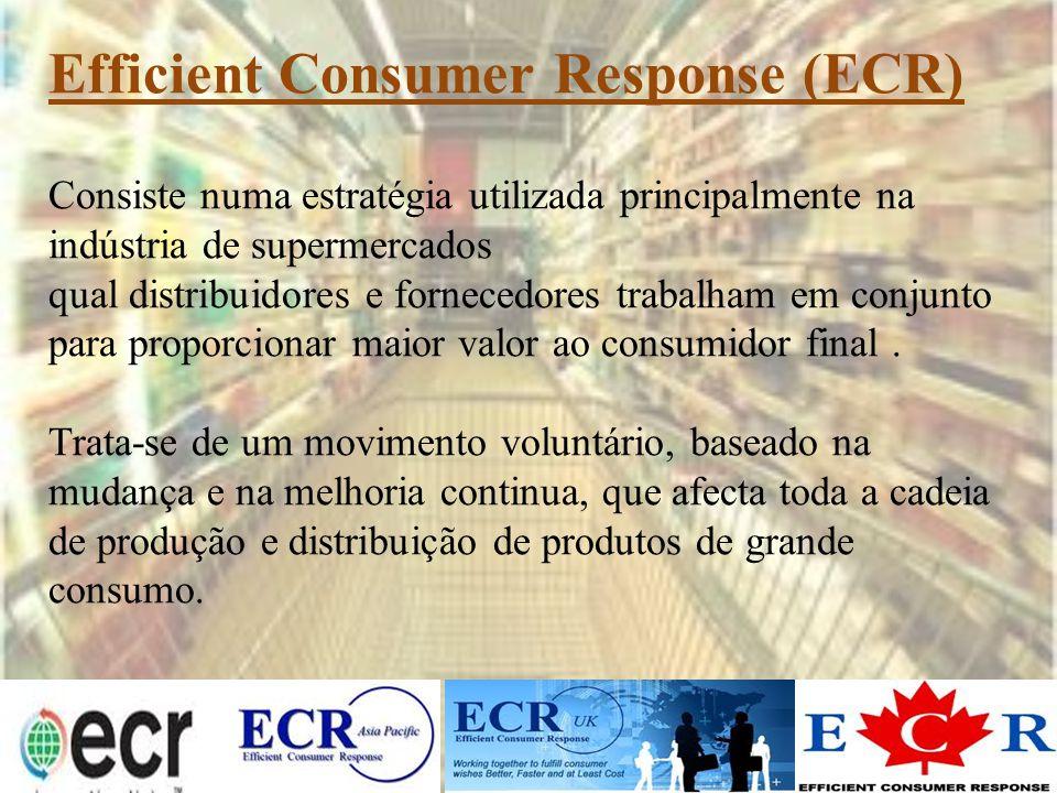 Consiste numa estratégia utilizada principalmente na indústria de supermercados qual distribuidores e fornecedores trabalham em conjunto para proporci