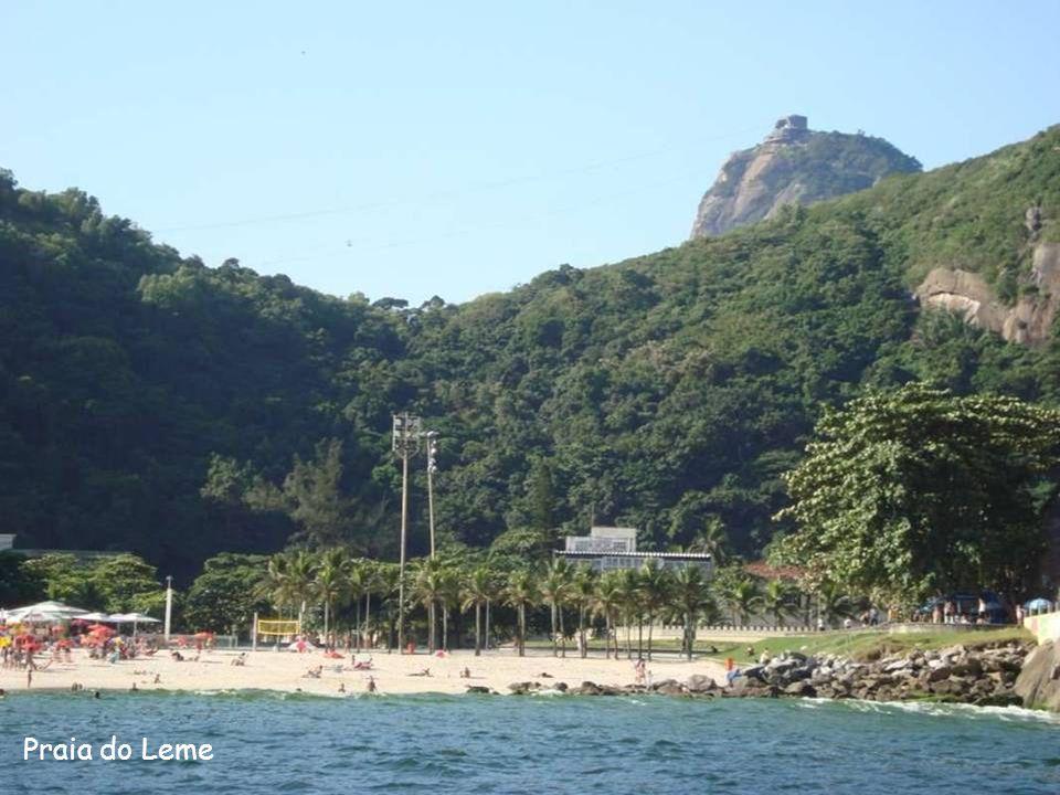 Fortaleza de Santa Cruz, na entrada da Baía de Guanabara.