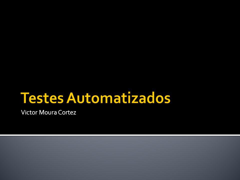  Sistemas de grande porte  Feedback com testes manuais é demorado  Consome recursos humanos por muito tempo  Automatizar testes de aceitação  Integração contínua  Especificação do sistema utilizada como cenário de teste