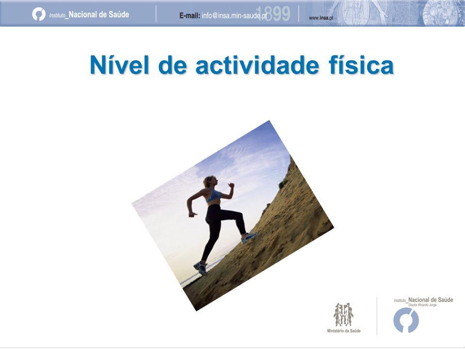 Nível de actividade física